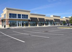 Commercial Building With Large Parking Space